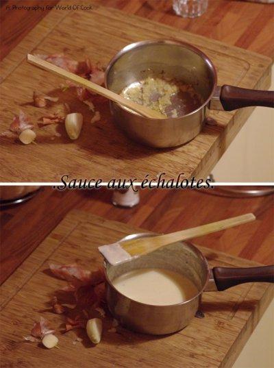 Sauce aux échalotes