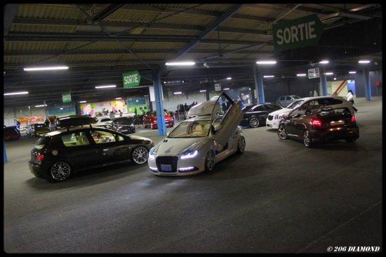 Shooting DIAMOND vs TUNING TOUR MEMBERS dans le Cimexpo de Montluçon (03) le 8 mai 2010