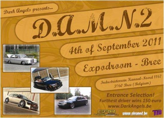 D.A.M.N.3 le 4 Septembre 2011 à Bree (Belgique)