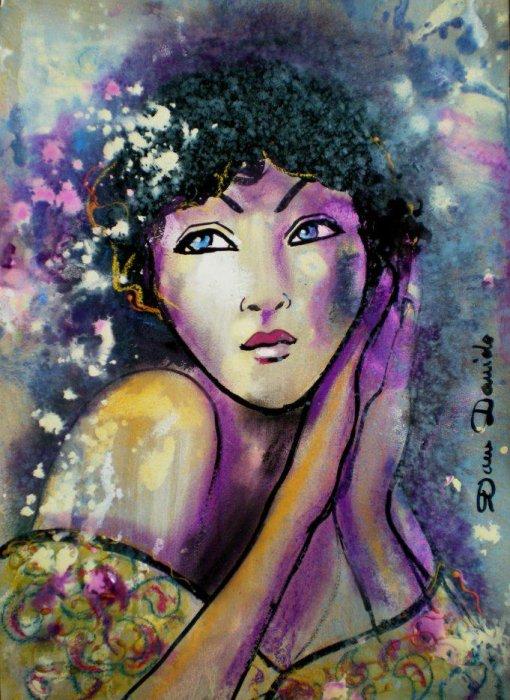 la peinture, le dessin, mes passions, mon métier....
