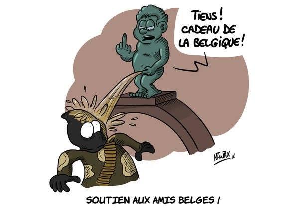 Pour mes ami(e)s Belges !