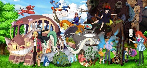 Le studio Ghibli !