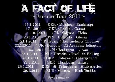 -OZ- European Tour