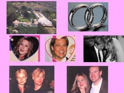 Mariage de Jennifer Aniston et Brad Pitt
