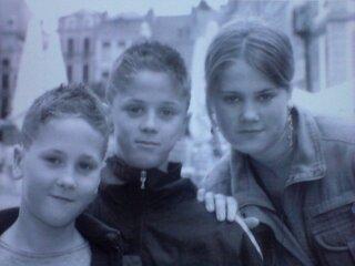 voici moi et mon frere et ma soeur