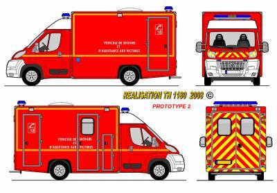 Fiat ducato caisson vsav proto france world secours paint - Dessiner un camion de pompier ...