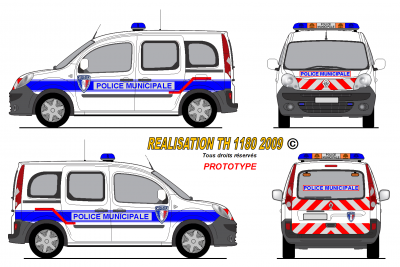 New renault kangoo pm france world secours paint - Comment dessiner un camion de pompier ...