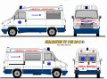 Ambulance Citroen C25 Turbo Volume MEDICAL ASSISTANCE Belgique