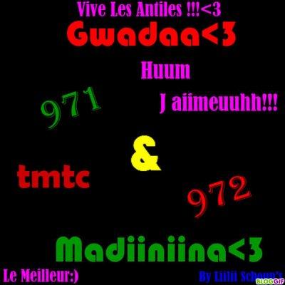 Madiiniina 972 & Gwadaa 971