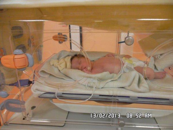 Mon bébé a la Maternité