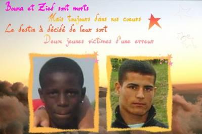 Hommage à Zyed & Bouna - Morts Pour Rien (ADM - CLICHY S/S BOIS)