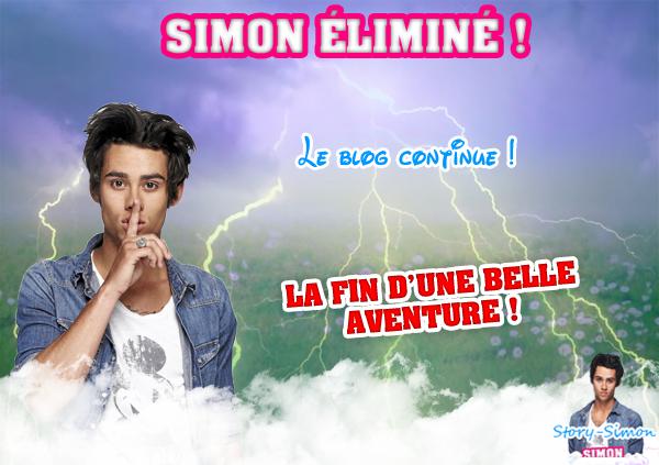 ~~ Simon malheureusement éliminé ! ~~