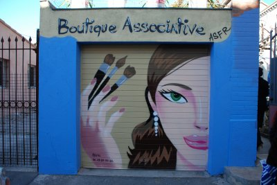 INAUGURATION DE LA BOUTIQUE ASSOCIATIVE ASFR