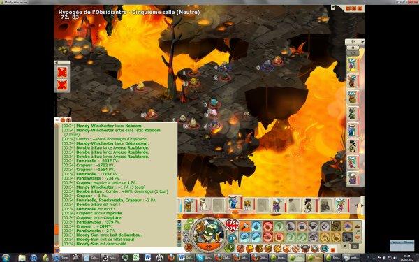 Explosions sympa avec la roublarde :)