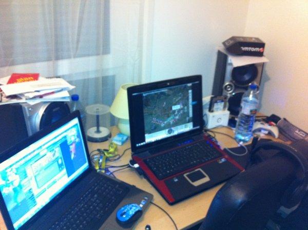 Mon bureau en mode farm krala.