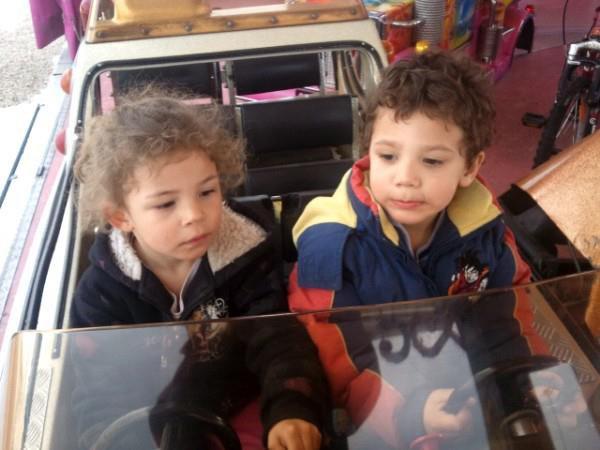 la cousine et mon fils