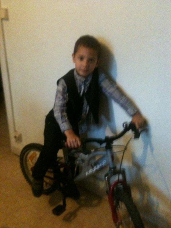 Le vélo a mon fils