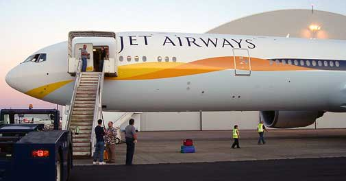 Jet Airways could get Sharjah-based Etihad Airways' wings