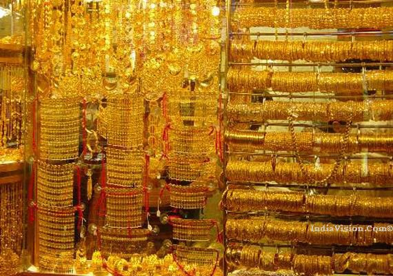 Gold prices plunged to a 6 week low by losing Rs. 330 to Rs. 30,870 per 10gm