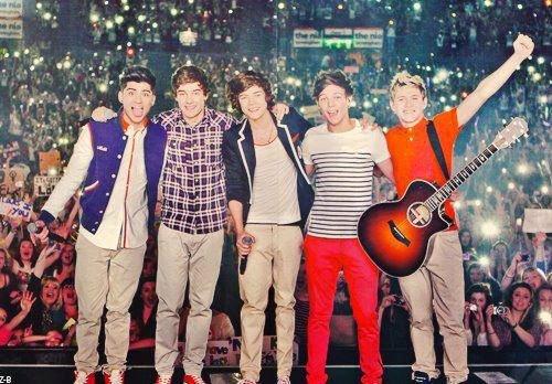 Les personnages principaux , Nos idoles ; Les One Direction