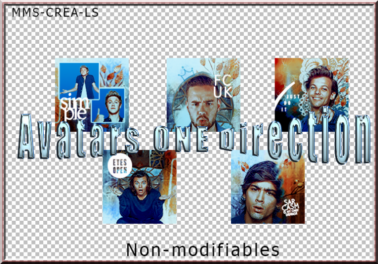 Avatars King Blue One Direction