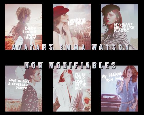 Avatars Retro Emma Watson