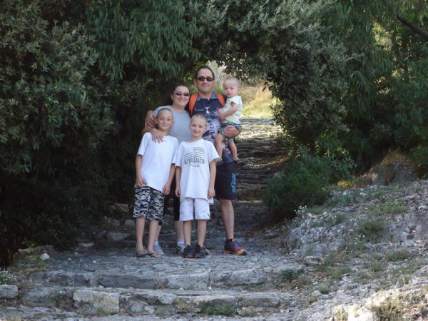 moi mon marie et mes enfants