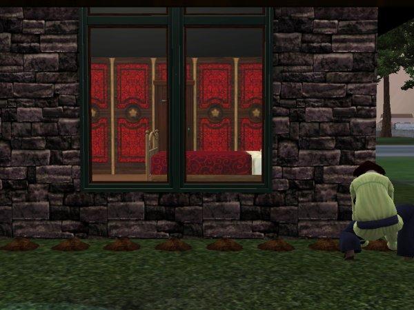 Livre I. Page 6 Je DÉTESTE les LADENTELLE (Ceux qui ont eu les Sims 1 connaissent le cauchemar Mlle Ladentelle...)