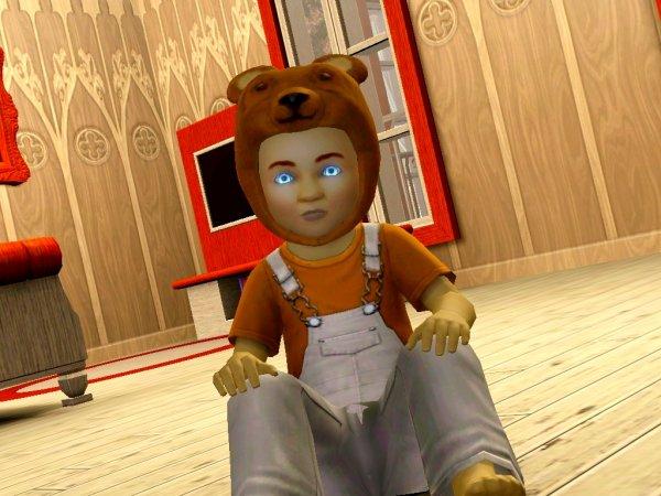 Livre III. Page 18 Petit petit ours Brun, il nettoie ton beau vag...
