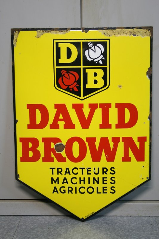 Plaque David Brown