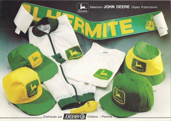 Objets publicitaires John Deere