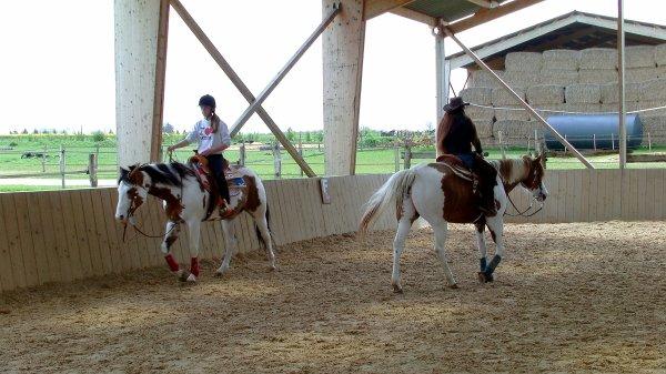 * 5 Mai 2012 * En selle sur la jolie Paint Horse $)  *