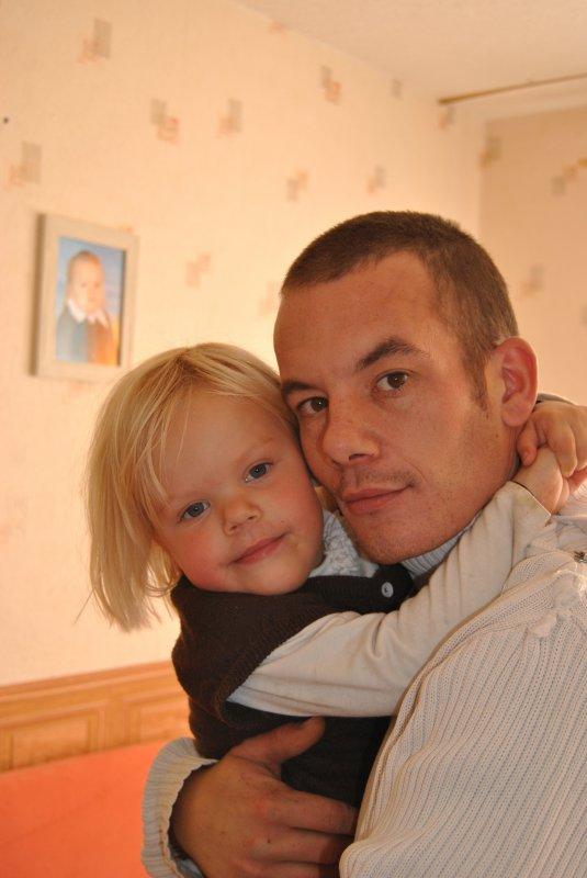 julia et son papa