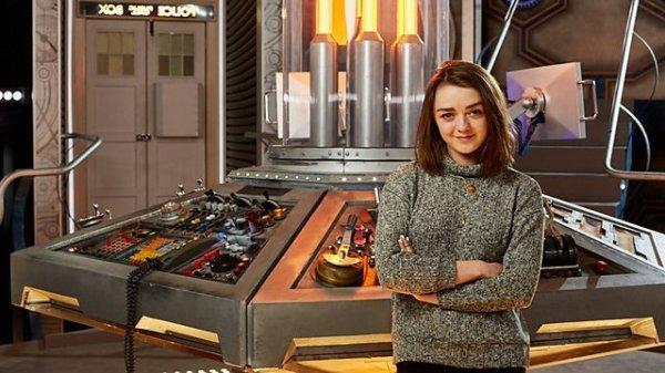 Maisie Williams en guest dans la saison 9 de Doctor Who