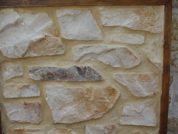 les pierre apparente et les pierre seche