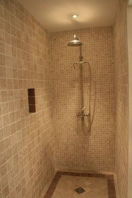 je execut des douche italienne avec plomberie inclus a moitie prix