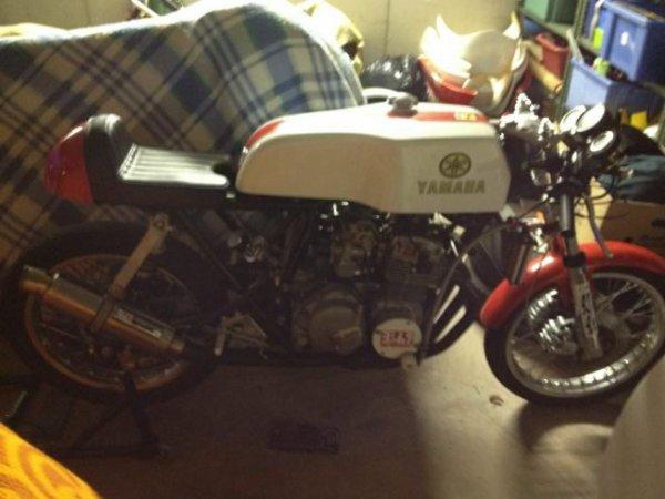 Modif Honda 400 four