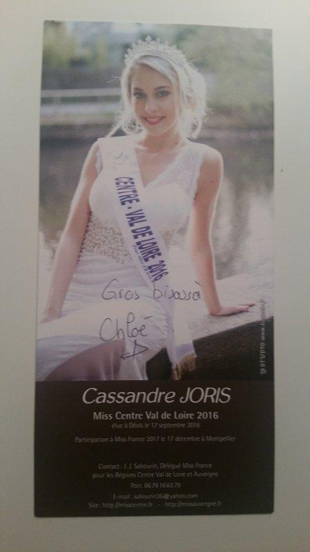 Dédicace de Cassandre Joris !