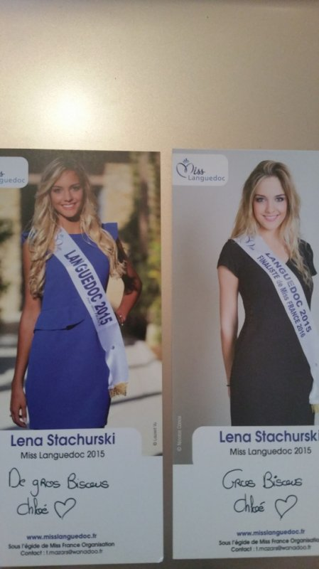 Dédicace de Lena Stachurski !