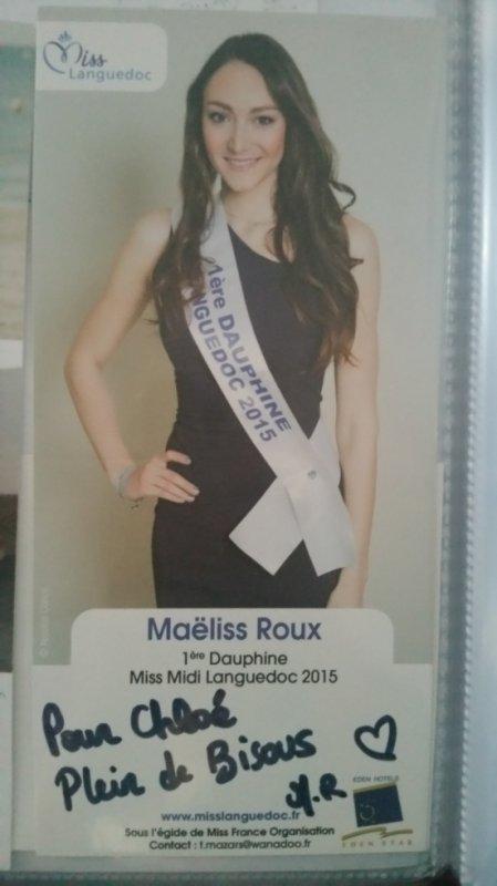 Dédicace de Maëliss Roux !