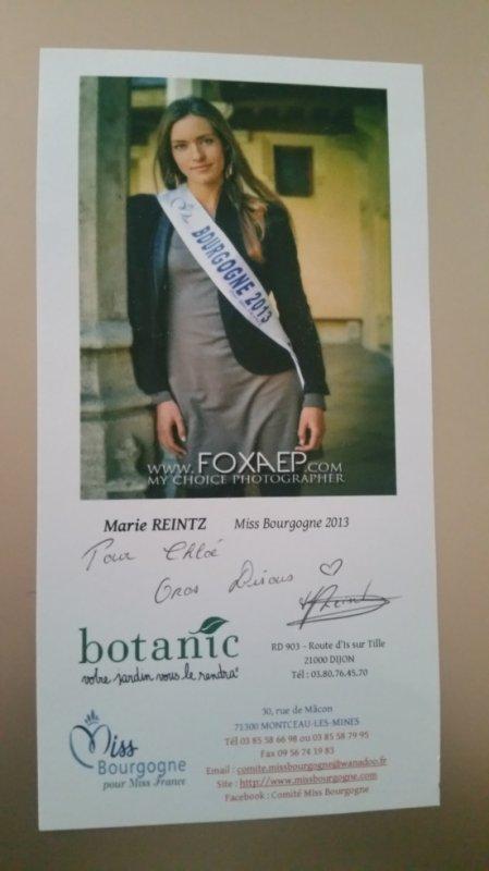 Dédicace de Marie Reintz !