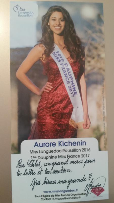 Dédicace d'Aurore Kichenin !