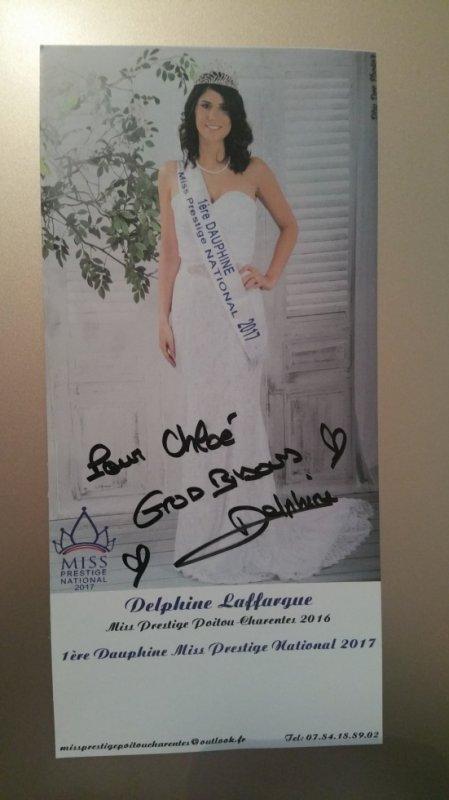 Dédicace de Delphine Laffargue !