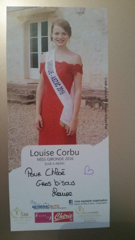 Dédicace de Louise Corbu !