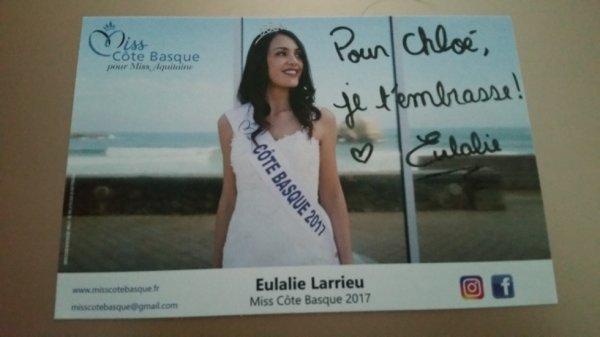 Dédicace d'Eulalie Larrieu !