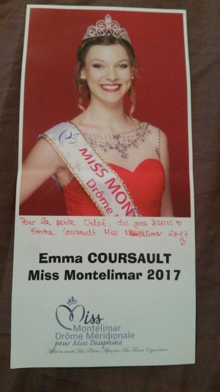 Dédicace d'Emma Coursault !