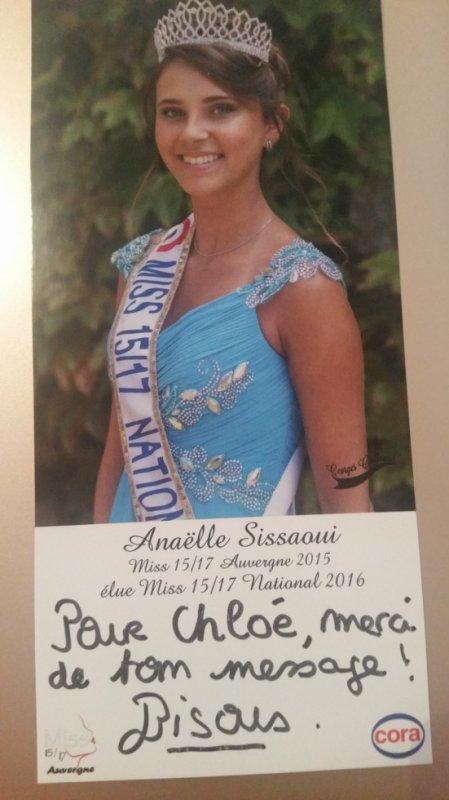 Dédicace d'Anaëlle Sissaoui !