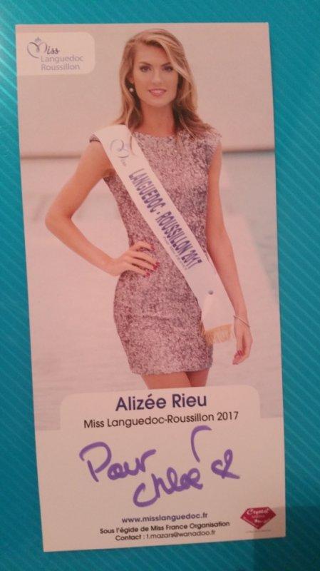 Dédicace d'Alizée Rieu !