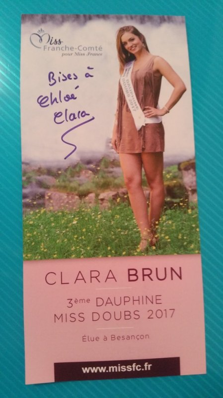Dédicace de Clara Brun