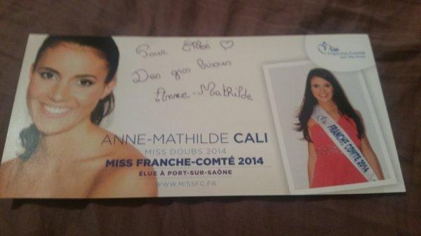 Dédicace d'Anne-Mathilde Cali !